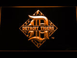 Detroit Tigers (7) LED Neon Sign USB - Orange - TheLedHeroes