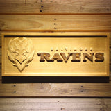 Baltimore Ravens Wooden Sign
