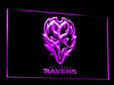 FREE Baltimore Ravens LED Sign - Purple - TheLedHeroes