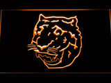 Detroit Tigers (9) LED Neon Sign USB - Orange - TheLedHeroes