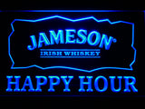FREE Jameson Happy Hours LED Sign - Blue - TheLedHeroes