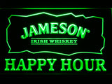 FREE Jameson Happy Hours LED Sign - Green - TheLedHeroes