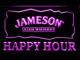 FREE Jameson Happy Hours LED Sign - Purple - TheLedHeroes