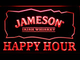 FREE Jameson Happy Hours LED Sign - Red - TheLedHeroes