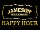 FREE Jameson Happy Hours LED Sign - Yellow - TheLedHeroes