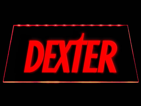 FREE Dexter LED Sign - Red - TheLedHeroes