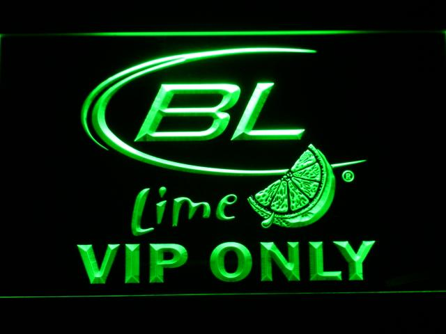 Bud Light Lime VIP Only LED Neon Sign Electrical - Green - TheLedHeroes
