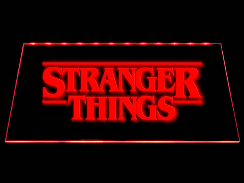 FREE Stranger Things (2) LED Sign - Red - TheLedHeroes