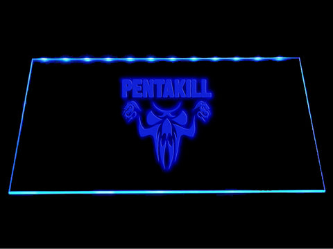 League Of Legends Pentakill (3) LED Sign - Multicolor - TheLedHeroes