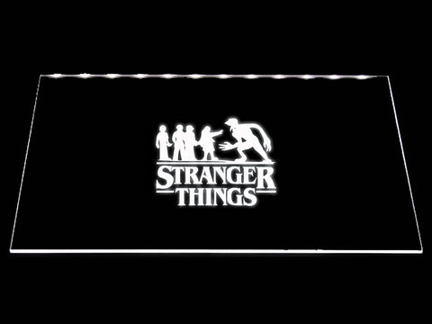 FREE Stranger Things (3) LED Sign - White - TheLedHeroes