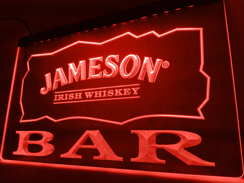 FREE Jameson Bar LED Sign - Red - TheLedHeroes