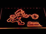 Super Mario Bros LED Neon Sign USB - Orange - TheLedHeroes
