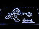 Super Mario Bros LED Neon Sign USB - White - TheLedHeroes