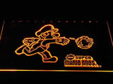Super Mario Bros LED Neon Sign USB - Yellow - TheLedHeroes