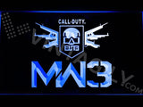 Call of Duty MW3 LED Neon Sign Electrical - Blue - TheLedHeroes