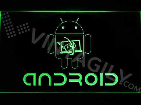 Android LED Sign