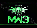 Call of Duty MW3 LED Neon Sign Electrical - Green - TheLedHeroes