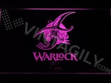 FREE Warlock LED Sign - Purple - TheLedHeroes