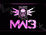Call of Duty MW3 LED Neon Sign Electrical - Purple - TheLedHeroes