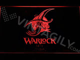 FREE Warlock LED Sign - Red - TheLedHeroes