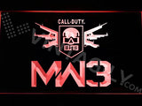 Call of Duty MW3 LED Neon Sign Electrical - Red - TheLedHeroes