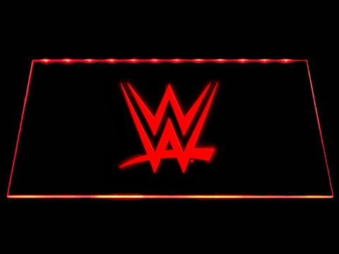 FREE World Wrestling Entertainment LED Sign - Red - TheLedHeroes