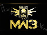 Call of Duty MW3 LED Neon Sign Electrical - Yellow - TheLedHeroes