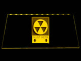 Fallout Shelter Sign LED Sign - Yellow - TheLedHeroes