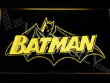 Batman 3 LED Sign - Yellow - TheLedHeroes