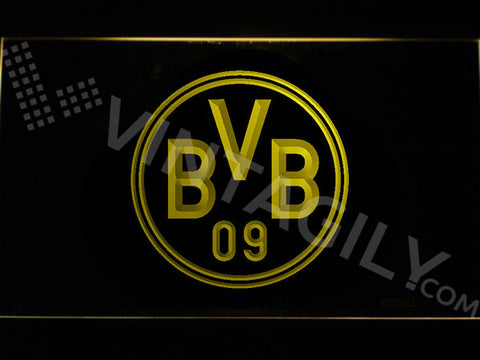 Borussia Dortmund LED Sign - Multicolor - TheLedHeroes