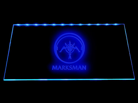 League Of Legends Marksman (2) LED Sign - Multicolor - TheLedHeroes