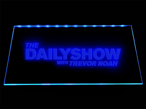 FREE The Daily Show LED Sign - Blue - TheLedHeroes