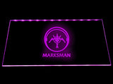 League Of Legends Marksman (2) LED Sign - Purple - TheLedHeroes