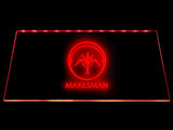 League Of Legends Marksman (2) LED Sign - Red - TheLedHeroes