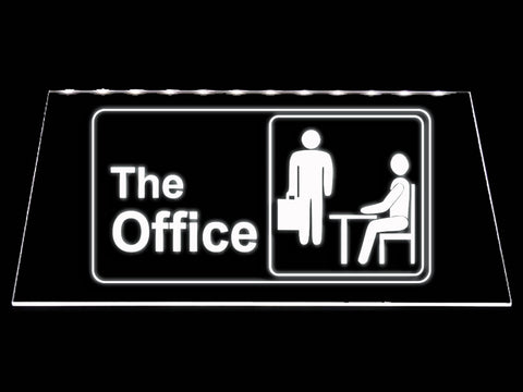 FREE The Office LED Sign - White - TheLedHeroes