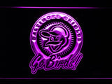 Baltimore Orioles (20) LED Neon Sign USB - Purple - TheLedHeroes