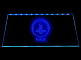 League Of Legends Mage (2) LED Sign - Blue - TheLedHeroes