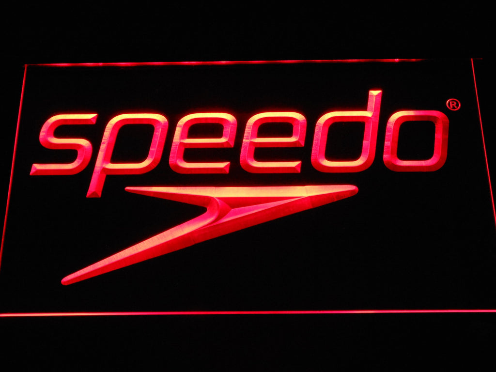 Speedo LED Neon Sign USB - Red - TheLedHeroes