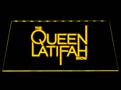 FREE The Queen Latifah Show LED Sign - Yellow - TheLedHeroes