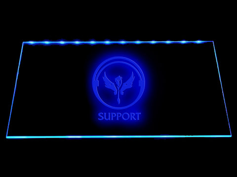 League Of Legends Support (3) LED Sign - Multicolor - TheLedHeroes
