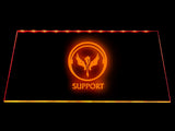 League Of Legends Support (3) LED Sign - Orange - TheLedHeroes