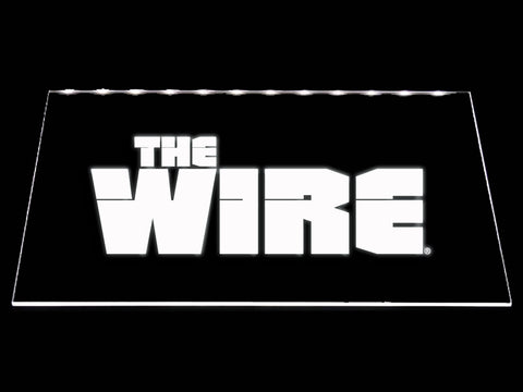 FREE The Wire LED Sign - White - TheLedHeroes