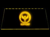 League Of Legends Support (3) LED Sign - Yellow - TheLedHeroes