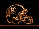 Washington Redskins (4) LED Neon Sign USB - Orange - TheLedHeroes