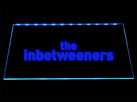 FREE The Inbetweeners LED Sign - Blue - TheLedHeroes