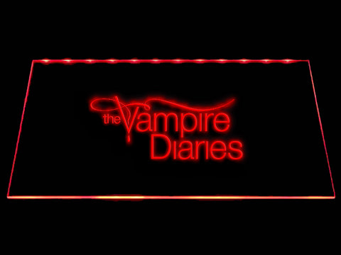 FREE The Vampire Diaries LED Sign - Red - TheLedHeroes