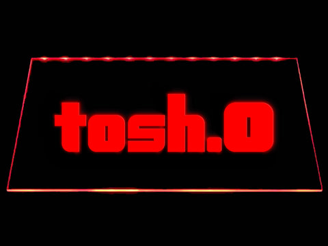 FREE Tosh.0 LED Sign - Red - TheLedHeroes