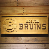 Boston Bruins Wooden Sign -  - TheLedHeroes