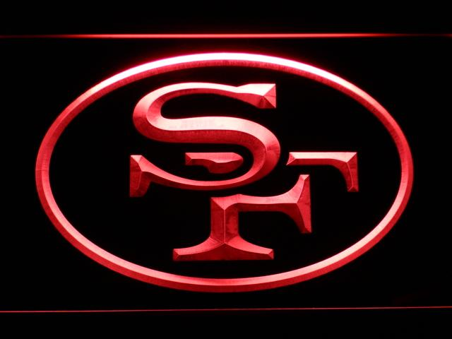 San Francisco 49ers (8) LED Neon Sign USB - Red - TheLedHeroes