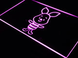 FREE Disney Mini Piglet Winnie the Pooh LED Sign - Purple - TheLedHeroes
